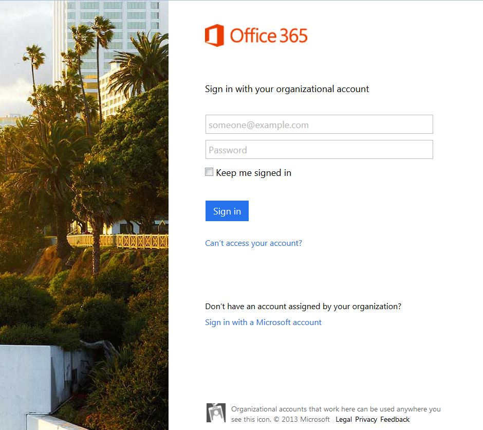 What is this Office 365 login page? It\'s not taking my user ID and ...